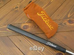 Scotty Cameron 1996 COPPER Sonoma Limited Edition 1/500 GRIP & SUEDE HEADCOVER