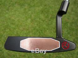 Scotty Cameron 2019 TOUR ONLY Black Newport 2 T22 Terylium CIRCLE T 34 360G