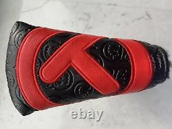 Scotty Cameron 2020 HOT HEAD HARRY Tour Only Black Red CIRCLE T Fastback