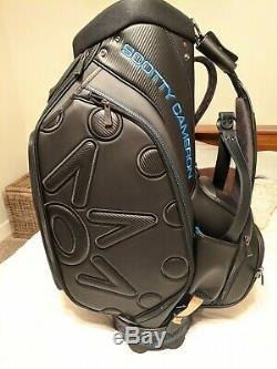 Scotty Cameron CT Black Staff Bag Back in Black Circle T Tour Use Only Titleist