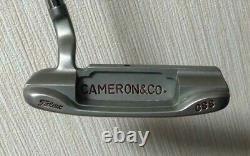 Scotty Cameron Circle T NEWPORT GSS Putter Titleist Golf Japan Steel 34 inch COA