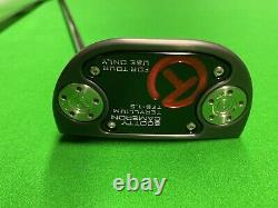 Scotty Cameron Circle T Tour Only Fastback 1.5 T22 Terylium Circle T