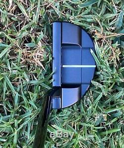 Scotty Cameron Custom Hand Welded Neck in Luxurious Black Nickel