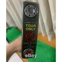 Scotty Cameron Golf Putter Circle T CALIFORNIA MONTEREY 1.5 TOUR Titleist used