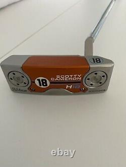 Scotty Cameron H18 Golf Putter Titleist Orange/Blue 2018 Limited Model