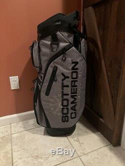 Scotty Cameron Heather Grey Cart Bag For Tour Use Only FTUO Circle T