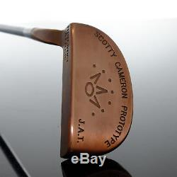 Scotty Cameron J. A. T. Prototype Custom Deep Copper (35) #681101036 Putter