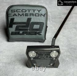 Scotty Cameron Limited Edition H20 Black Phantom X 11.5 Holiday Putter 1/1500