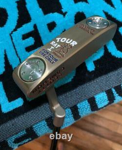Scotty Cameron Masterful Tour Rat 1, Circle T In Chromatic Bronze (USA Theme)