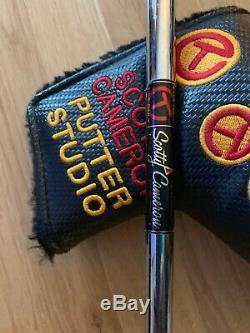 Scotty Cameron Newport Fastback Select Circle T tour use only putter 35