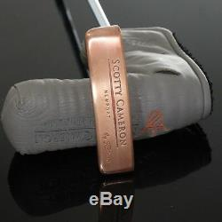 Scotty Cameron Newport Left Custom Copper Finish #671203028 Putter