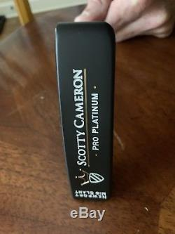 Scotty Cameron Pro Platinum Newport MID Slant Putter Mint Custom Refinished