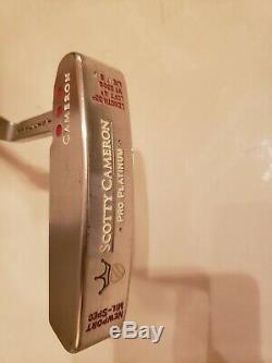 Scotty Cameron Pro Platinum Newport Mil Spec minty condition 35 genuine Titleist