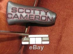 Scotty Cameron Select Squareback 1.5 putter 34 in Titleist box
