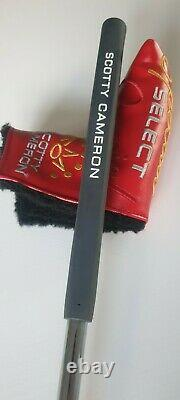 Scotty Cameron Special Select Newport Putter 34 Mint Used For 2 Rounds