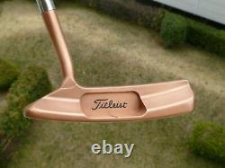 Scotty Cameron Studio Design 1.5 Copper Finished Titleist 35inch WithCove