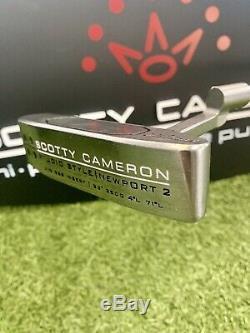 Scotty Cameron Studio Style NEWPORT 2 GSS 350g 33 RARE Custom Golf Putter