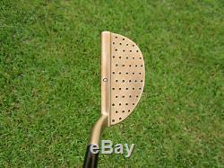 Scotty Cameron TOUR GSS M3 Chromatic Bronze with Augusta Green Sole & Snow 360G
