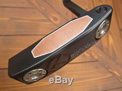 Scotty Cameron TOUR ONLY Black Newport T22 Terylium CIRCLE T 34 360G