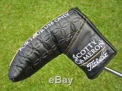 Scotty Cameron TOUR ONLY Black T22 Newport Teryllium CIRCLE T Two Tone 360G