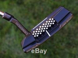 Scotty Cameron TOUR ONLY Newport 2 T22 Terylium CIRCLE T Tour Black 34 360G