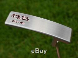 Scotty Cameron TOUR ONLY Timeless 2 Newport 2 T2 Circle T SSS 350G TIGER WOODS
