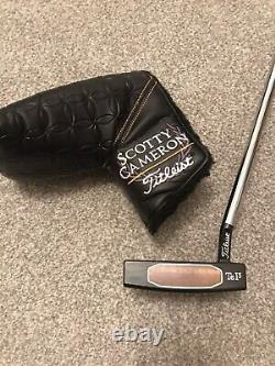 Scotty Cameron Teryllium Fastback 1.5 T22 Putter 35inches