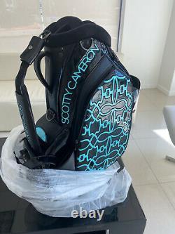 Scotty Cameron Tiffany SC Dog Pattern Staff Bag Tour Titleist