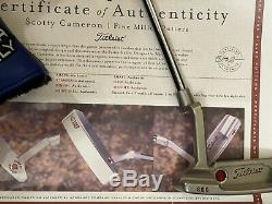 Scotty Cameron Timeless Newport 2 Smooth Face SSS Tour Cherry Bombs Circle T