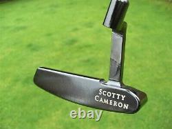 Scotty Cameron Titleist 1996 Classics Newport Gun Blue Putter With AOP Headcover