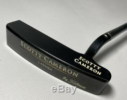 Scotty Cameron Titleist Laguna Putter 1995 Gun Blue Black Finish RH 35 Used