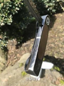 Scotty Cameron Titleist Newport Putter Tei3 Long Neck Pebble Grain Grip TE I3