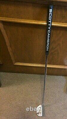 Scotty Cameron Titleist Select Fastback 2, 34 Right Hand Excellent Condition