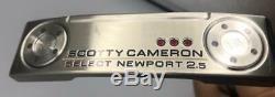 Scotty Cameron Titleist Select Newport 2.5 Putter 34 New #000m1