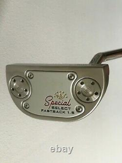 Scotty Cameron / Titleist Special Select Fastback 1.5 Putter 34 MINT