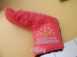 Scotty Cameron Titleist Special Select NEWPORT 2.5 Putter 34 NEW with headcover