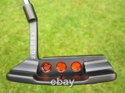 Scotty Cameron Tour Only Black NEWPORT 2 MID-SLANT Studio Select Circle T 360G