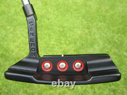 Scotty Cameron Tour Only Black T10 BUTTON BACK Newport 2 Circle T DEEP MILLED
