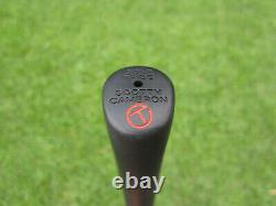 Scotty Cameron Tour Only Black T22 Newport 2 Terylium CIRCLE T 35 340G