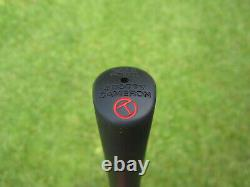 Scotty Cameron Tour Only SSS Masterful 009. M Circle T 350G with Script TITLEIST