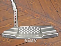 Scotty Cameron Tour Only SSS Silver Newport 2 T22 Terylium Circle T with TOP LINE