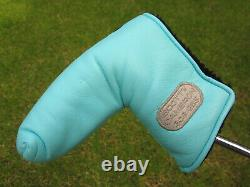 Scotty Cameron Tour Only TIFFANY Cameron & Co. SILVER PATCH GSS Blade Headcover