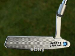 Scotty Cameron Tour Only TOURTYPE TIMELESS Newport 2 Circle T 34 350G TRI-SOLE
