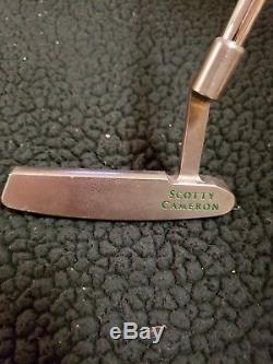 Scotty Cameron by Titleist Putter 34 1/2 Newport Raw Finish