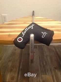 Scotty cameron titleist bullseye blade putter withHC all original pro platinum
