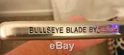 TITLEIST SCOTTY CAMERON BULLSEYE BLADE PUTTER ORIG SHAFT/GRIP WithHC 35
