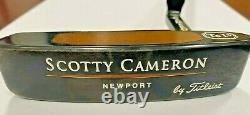 TITLEIST SCOTTY CAMERON NEWPORT Te I3 TERYLLIUM RH 35 1998 model