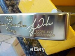 Tiger Woods Scotty Cameron Titleist Putter 2000 Us Open Tiger Slam Gip With Hc