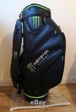 Tiger Woods Tour Staff Golf Bag Taylormade Titleist Scotty Cameron Pxg