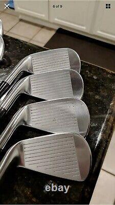 Titleist AP2 716 Iron Set 4-PW, W Steel Stiff + Scotty Cameron Select Newport 2